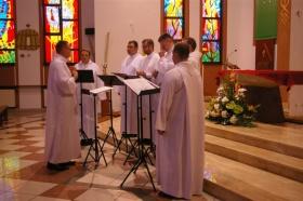 Schola Gregoriana Cardinalis Stephani Wyszyński porwała publiczność