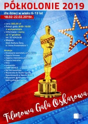 """półkolonie zima """"Filmowa Gala Oskarowa"""" Kliknięcie w obrazek spowoduje wyświetlenie jego powiększenia"""